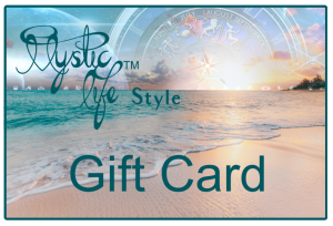 Mystic Life Gift Card | Mystic Life | Mystic Life Style | Mystic | Zodiac | Astrology | Tarot | Occult | Esoteric | Astrological Monogram | Sigil | Magic | Magick