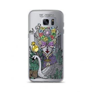 SKT | Spirit Keepers Tarot | Belebell Wen | Tarot | Tarot Cards | Mystic Life | Mystic Life™ | Mystic Life™ Style | Mystical Apparel & Accessories | Empress | The Empress | Occult | Esoteric | Astrology | Magic | Magick | Samsung Phone Case | Phone Case | Samsung